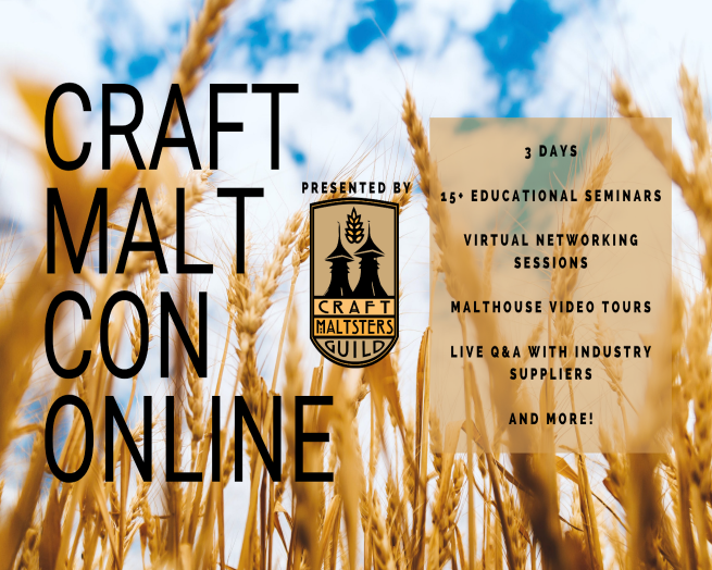 Craft Malt Con Online 2021