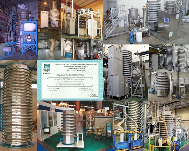 Revtech pasteurization, roasting, heat treatment equipment