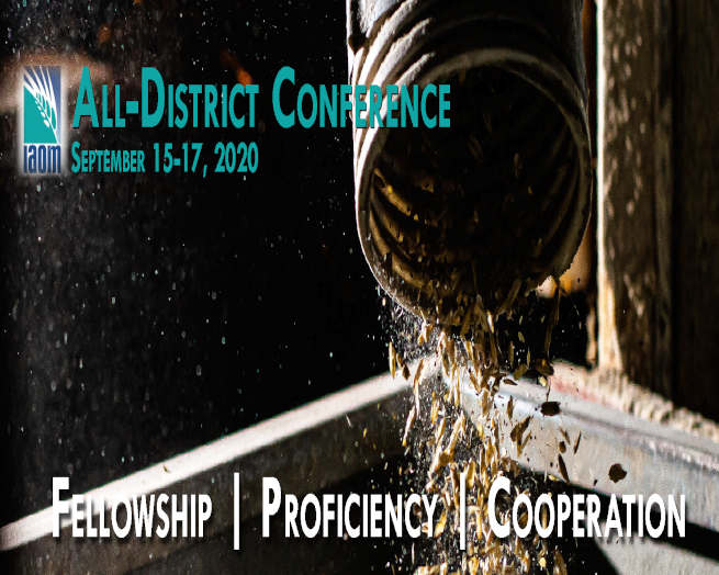 IAOM All District Virtual Conference & Expo logo