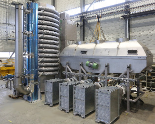 Revtech heat treatment line